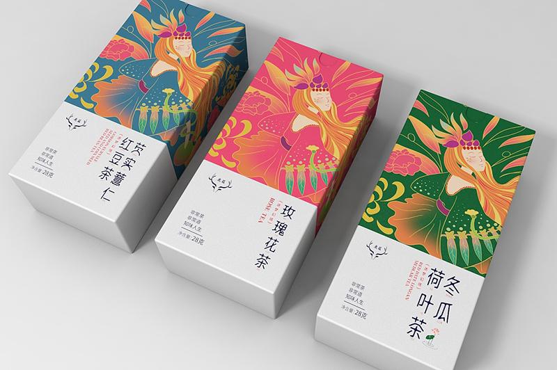 南阳中州路_花茶包装设计 包装设计-河南杜比商贸有限公司